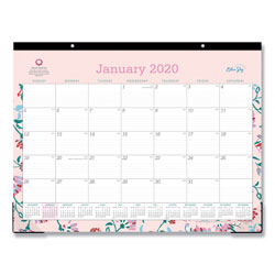 Blue Sky Breast Cancer Awareness Desk Pad 12 Months 22