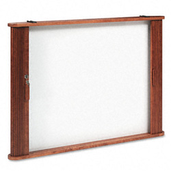 Balt Conference Room Cabinet, Magnetic Dry Erase Board, 44 x 4 x 32, Medium Oak