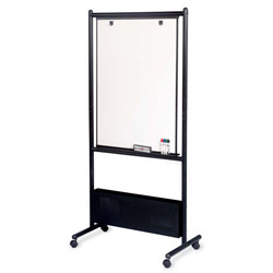 "Balt Nest Easels, Double Sided, 31-1/2""x24""x72"", Black"