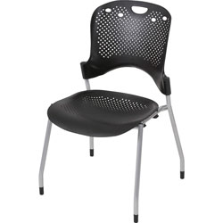 "Balt Circulation Stack Chair, 25"" x 23-3/4"" x 34"", Black"