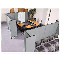 Balt GreatDivide Fabric Add-On Panel, 64w x 3d x 96h, GY