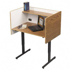 Balt Height Adjustable Study Carrel