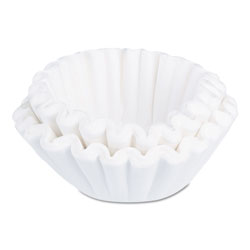Bunn Flat Bottom Coffee Filters, Paper, 24 Cup Size
