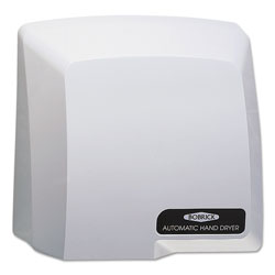 Bobrick Compact Automatic Hand Dryer, 115V, Gray