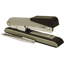 Stanley Bostitch B8 Flat Clinch Stapler, 40 Sheet Capacity, Black