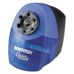 "Stanley Bostitch Pencil Sharpener, 6 Feet Cord, 5""x9""7 1/2"", Blue/Black"