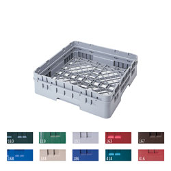 "Cambro Full Size Camrack Base Rack, 4 1/4"", Blue"