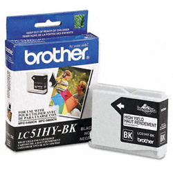 Brother Black High Yield Inkjet Cartridge, 900 Pages