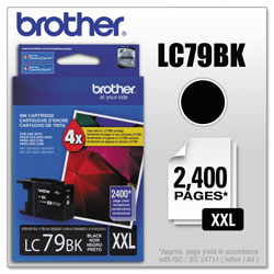Brother Ink Cartridge, 2, 400 Page Yield, Black
