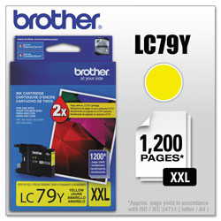 Brother Ink Cartridge, 1, 200 Page Yield, Yellow