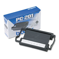 Brother PC201 Black Ribbon Cartridge for 1770, 1870, 1570, & PPF-1270