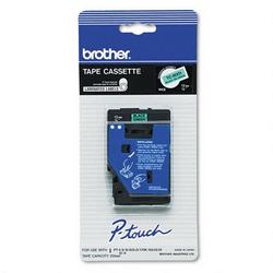 "Brother .5"" black on green tape for PT Touch labelers"