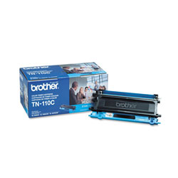 Brother Model TN110C, Cyan Toner Cartridge for Hl-4000 Series