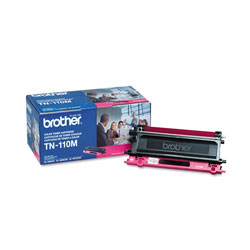Brother Model TN110M, Magenta Toner Cartridge for Hl-4000 Series