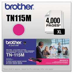 Brother Magenta Toner Cartridge for Hl-4000 Series, High-Yield