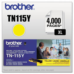 Brother Yellow Toner Cartridge for Hl-4000 Series, High-Yield