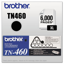 Brother TN-460 Black High-Yield Toner Cartridge