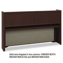 "Bush 72""W Overhead (Box 2 of 2) Enterprise: Mocha Cherry"