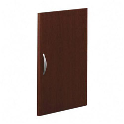 "Bush Series C Half Height Door Kit for Bookcases, 35"" Wide, Mahogany"