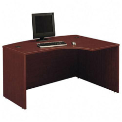 "Bush Right Lbow Desk, 587/8""x427/8""x297/8"", Mahogany"