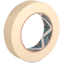 "Business Source Masking Tape, 3"" Core, 1"" x 60 Yards, Tan"