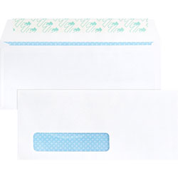 "Business Source Business Envelopes, No. 10, Peel/Seal, 9-3/4"" x 4"", White"