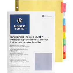 Business Source Insertable Index Tabs, Manila