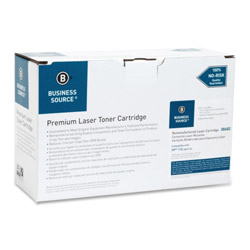 Business Source Toner Cartridge, For LaserJet 2400, 6000 Page Yield, Black