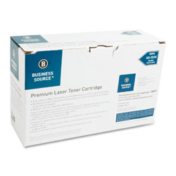 Business Source Laser Toner Print Cartridge, 4500 Page Yield, Black
