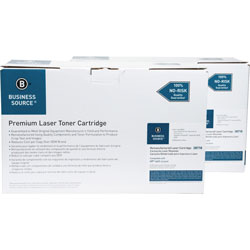 Business Source Toner Cartridge, 24000 Page Yield, 2/Pack, Black