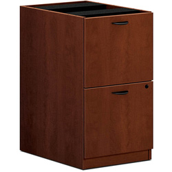 "Basyx by Hon BL2163 Pedestal, 15-5/8x21-3/4x27-3/4"", Medium Cherry"