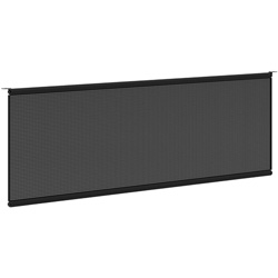 "Basyx by Hon Modesty Panel, 48"" Wide, Black"