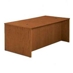 Basyx by Hon Credenza Shells, Rich Wood Veneer, Bourbon Cherry, 60w x 24d x 29h