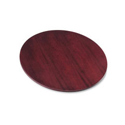 "Basyx by Hon 42"" Round Veneer Top Conference Table, Top Only, Mahogany"