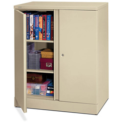 Basyx by Hon Easy-to-Assemble Storage Cabinet, 36w x 18d x 42-3/4h, Putty