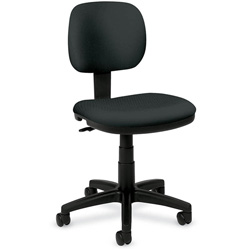 Basyx by Hon Basyx Series Swivel Task Chair, Gray Fabric