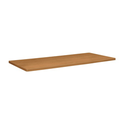 "Basyx by Hon Table Top, Rectangular, 96"" x 44"" x 1-1/8"", Harvest"