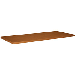 Basyx by Hon Rectangular Conference Table Top Component, 44 x 96, Bourbon Cherry