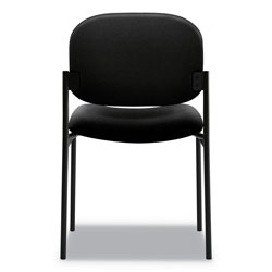 "Basyx by Hon Armless Guest Chair, 21-1/4""x21""x32-3/4"", Black"