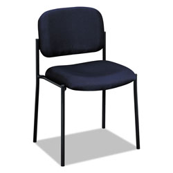 "Basyx by Hon Armless Guest Chair, 21-1/4""x21""x32-3/4"", Navy"