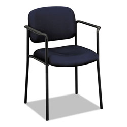 "Basyx by Hon Guest Chair With Arms, 23-1/4""x21""x32-3/4"", Navy"