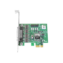 SIIG DP CyberSerial 4S PCIe - serial adapter - 4 ports