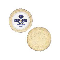 "Buff And Shine 7 1/2"" Wool Self Centering Polishing / Buffing Pad"