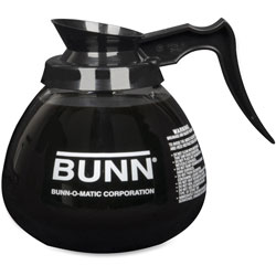 Bunn-O-Matic 12 Cup Standard Decanter, Clear/Black