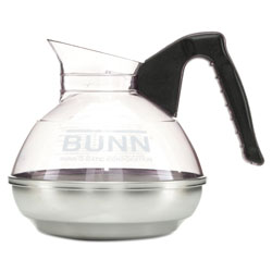 Bunn-O-Matic 12 Cup Coffee Carafe for Pour O Matic Bunn Coffee Makers, Black Handle