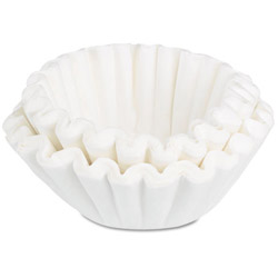 Bunn-O-Matic Coffee Filters, 10/12-Cup Size, 100 Filters/Pack