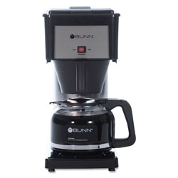 Bunn-O-Matic Ten Cup Coffee Brewer with Carafe, Black