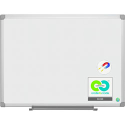 MasterVision™ Earth It! Dry-Erase Board, 4' x 6' - Aluminum Frame
