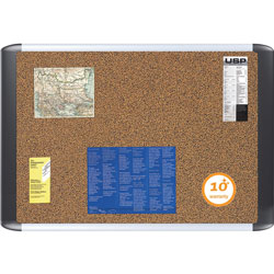 MasterVision™ Bulletin Boards, Self-Healing Surface, 2'x3', Cork