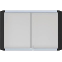 MasterVision™ Magnetic Dry Erase, 4' x 6', Aluminum Frame